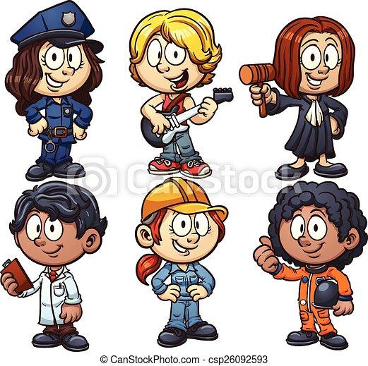 foglalkozás, gyerekek - csp26092593