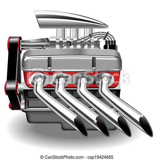 gép, vektor - csp19424665