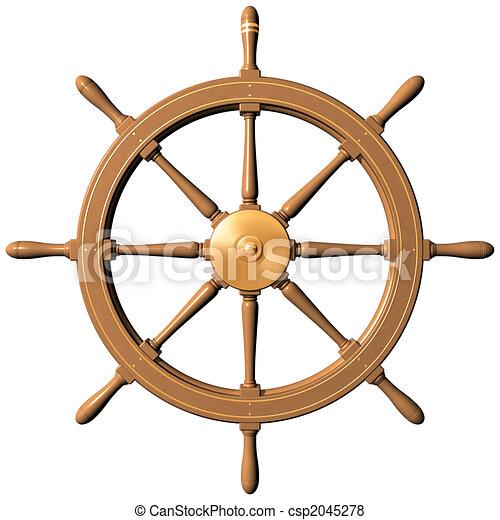 gördít, hajó - csp2045278