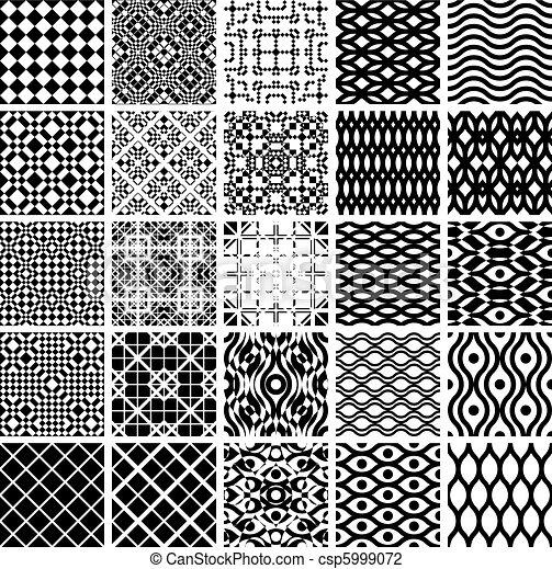geometriai, állhatatos, patterns., seamles - csp5999072