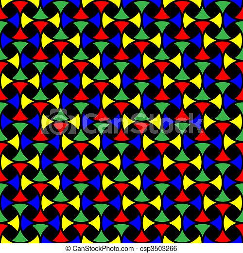 geometriai, díszítés, seamless - csp3503266