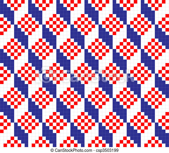 geometriai, díszítés, seamless - csp3503199