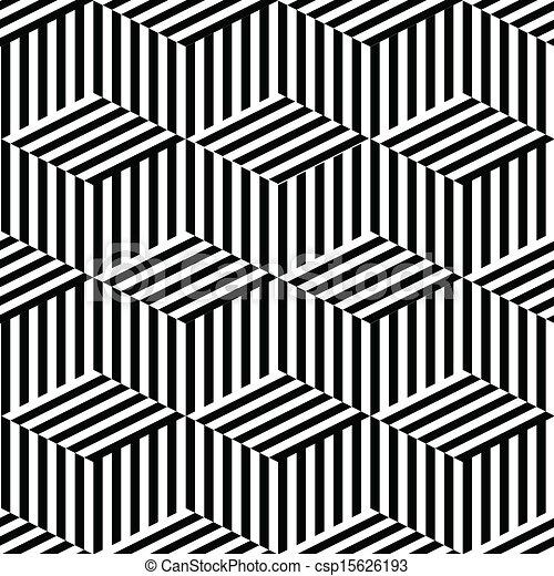 geometriai, fekete, fehér, seamless - csp15626193
