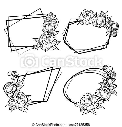geometriai, keret - csp77135358