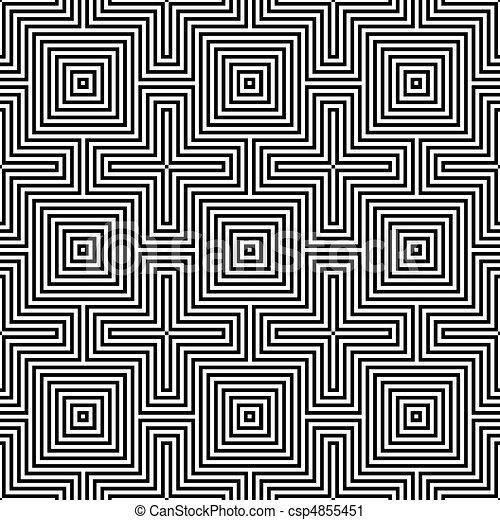 geometriai, ornament. - csp4855451