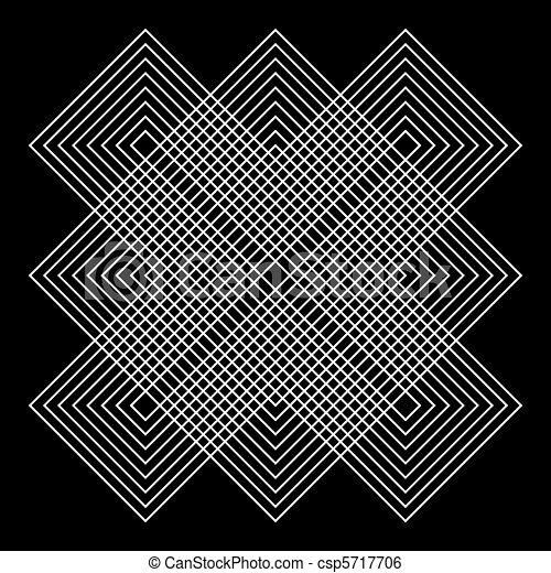 geometriai, vektor, illusions - csp5717706