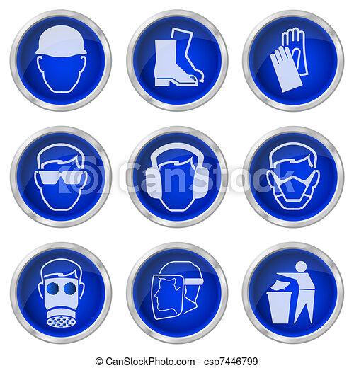 gombok, biztonság, egészség - csp7446799