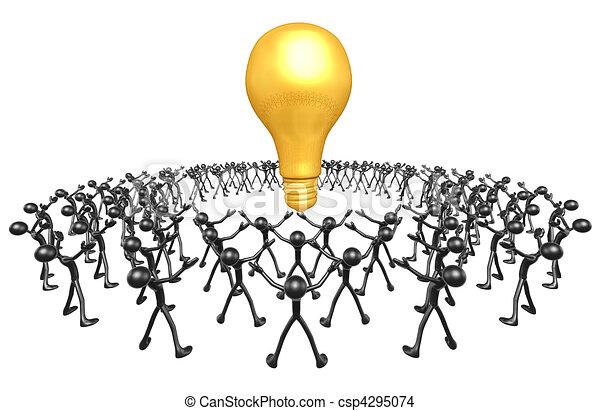 gondolat, közösség - csp4295074