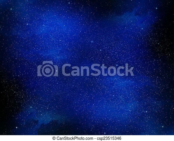 gyönyörű, ég, háttér - csp23515346