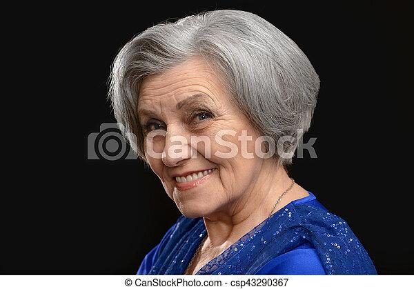 gyönyörű woman, érett - csp43290367
