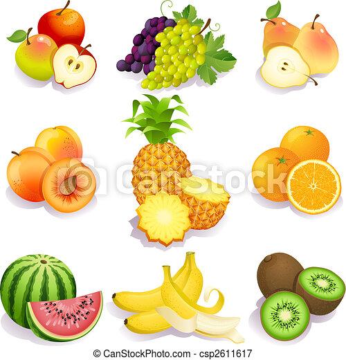 gyümölcs - csp2611617