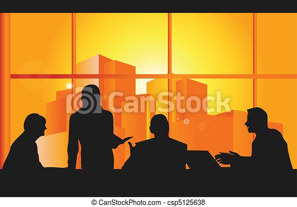 gyűlés, ügy - csp5125638