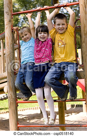 gyerekek, boldog - csp0518140