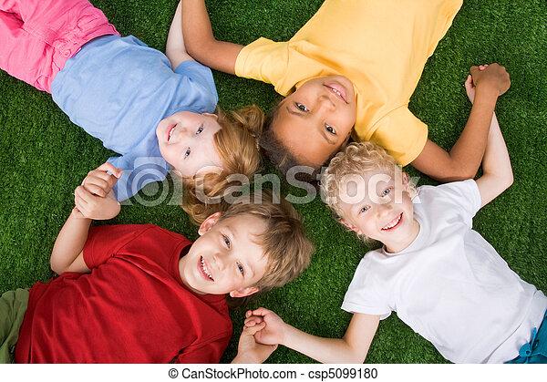 gyerekek, csoport - csp5099180
