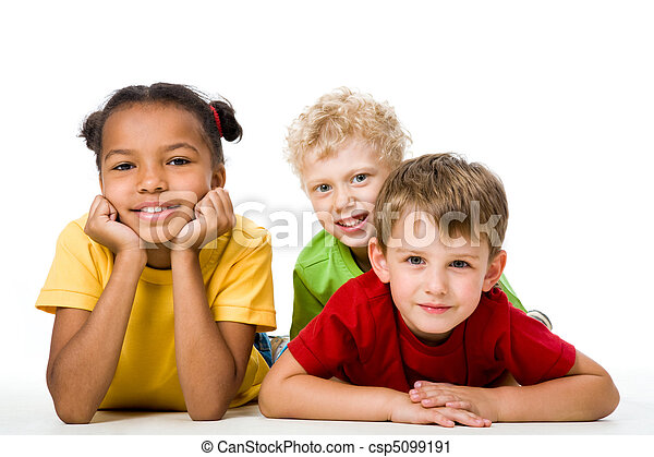 gyerekek, három - csp5099191