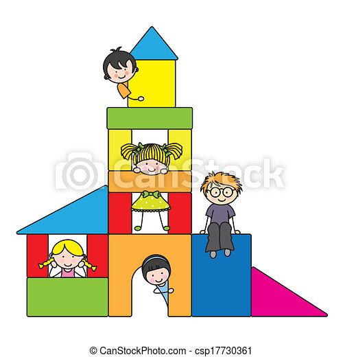 gyermekek játék - csp17730361