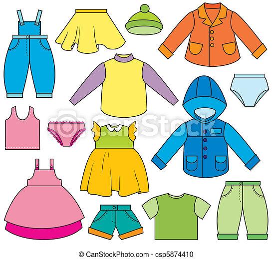 gyermekek ruházat - csp5874410