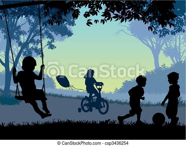 gyermekkor - csp3436254