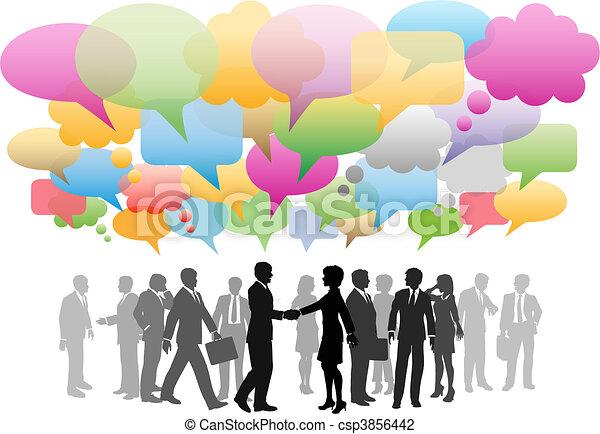 hálózat, ügy, média, társaság, beszéd, társadalmi, panama - csp3856442