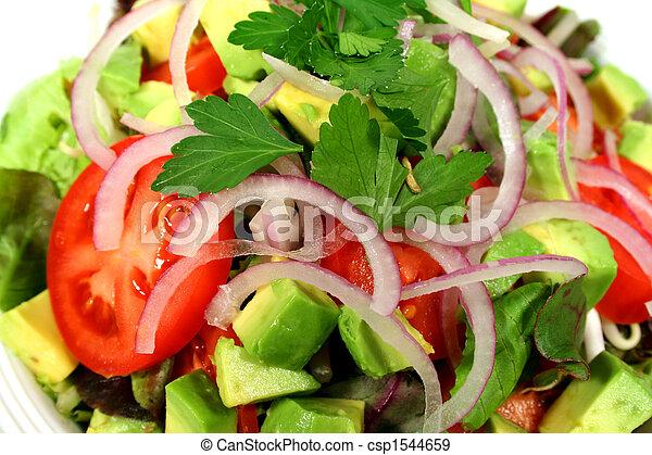 hányódás, finom, saláta - csp1544659