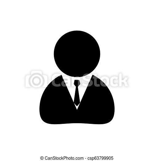 háttér, ügy, egyszerű, elszigetelt, tervezés, emberi, fehér, ikon - csp63799905