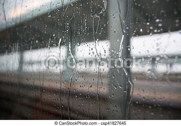 háttér., savanyúcukorka, eső, pohár - csp41827645