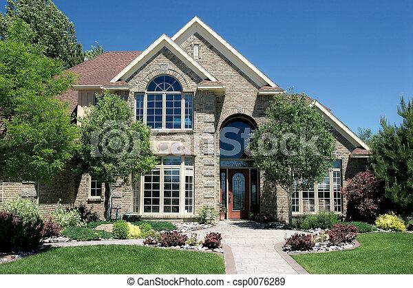 ház, kortárs - csp0076289