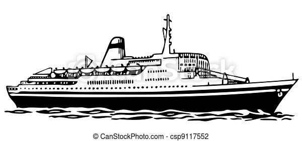 hajó cruise - csp9117552
