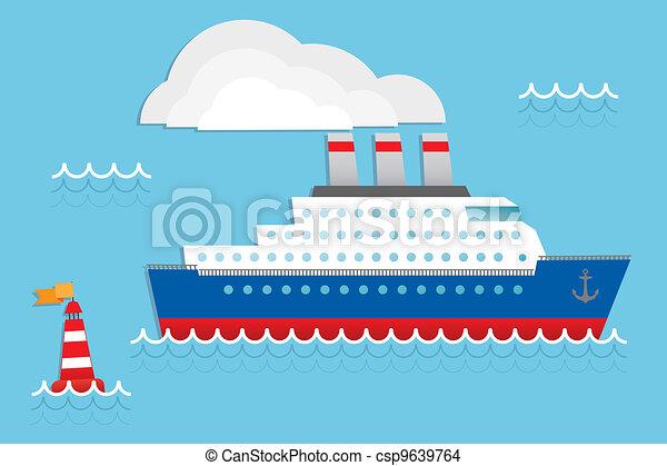 hajó cruise - csp9639764