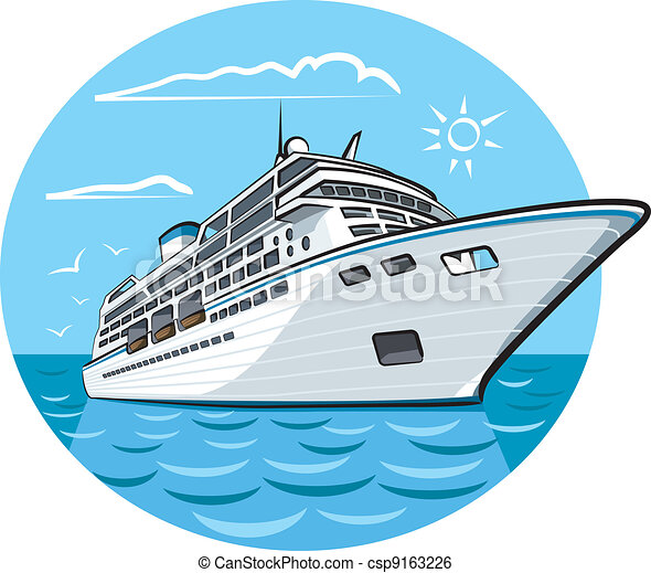 hajó, luxury cruise - csp9163226