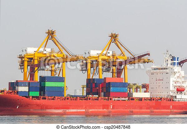 hajó tároló - csp20487848