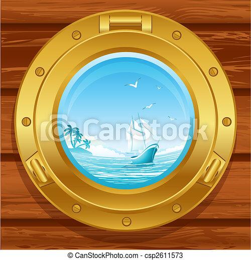 hajóablak - csp2611573