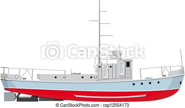 halászhajó - csp12554173