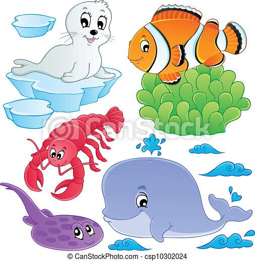 halfajták, 5, állatok, tenger, gyűjtés - csp10302024