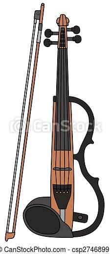 hegedű, elektromos - csp27468991