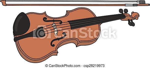 hegedű - csp28219973