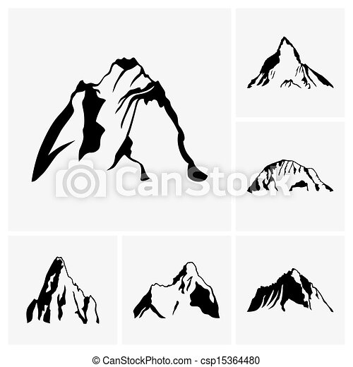 hegy csúcs - csp15364480