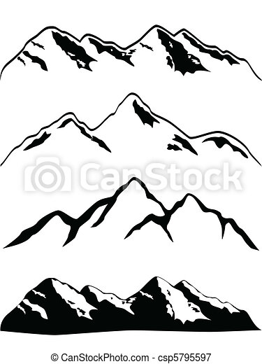 hegy csúcs - csp5795597