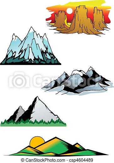 hegy csúcs - csp4604489