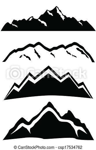 hegy csúcs, táj - csp17534762