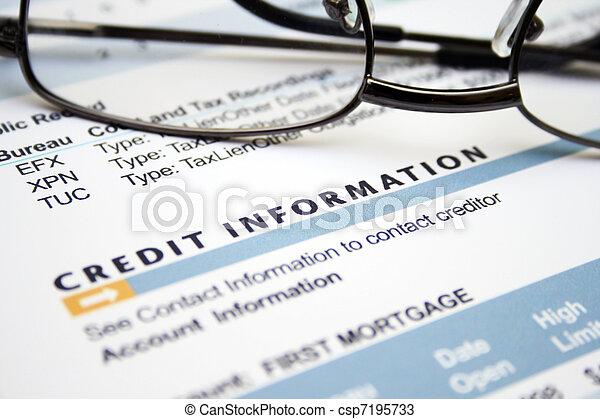 hitel, értesülés - csp7195733