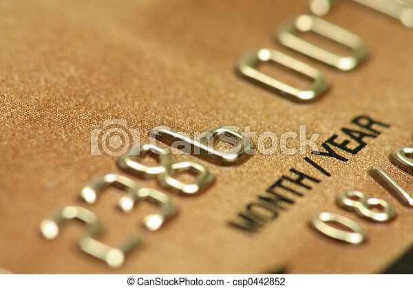 hitel, becsuk, kártya, feláll - csp0442852