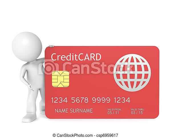 hitelkártya - csp6959617