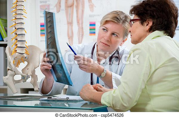 hivatal, orvos - csp5474526