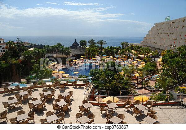 hotel, terület - csp0763867