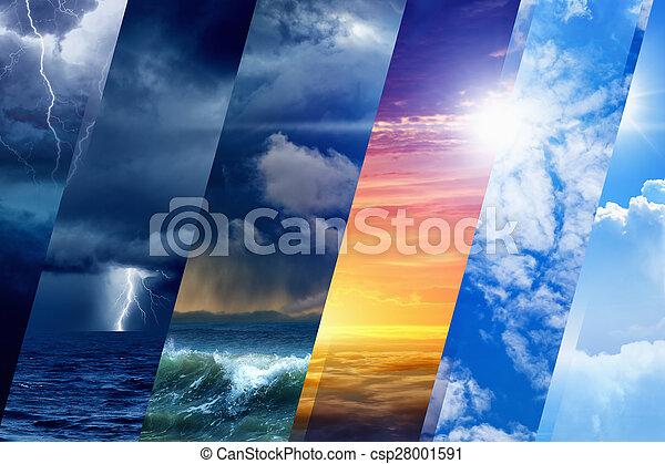 időjárás becsül - csp28001591