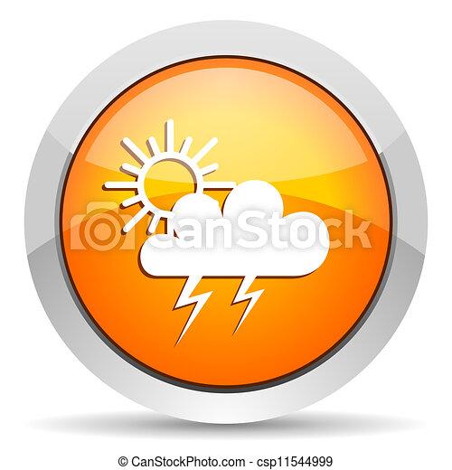 időjárás, ikon - csp11544999