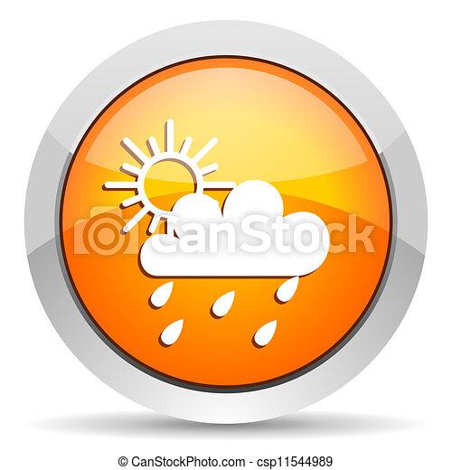 időjárás, ikon - csp11544989