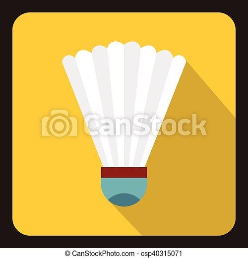 ikon, lakás, mód, tollaslabda, tollaslabda - csp40315071