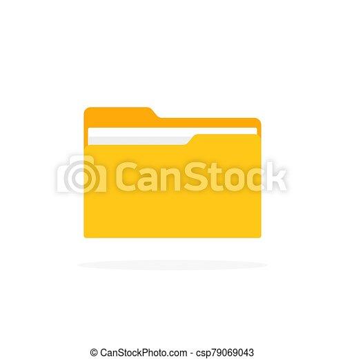 irattartó, mód, ikon, lakás, árnyék - csp79069043